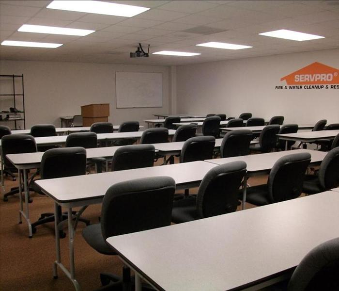 SERVPRO's on site training facility