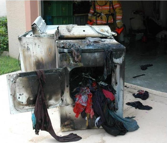 Fire Damage Clothes Dryers Safety Tips from FEMA