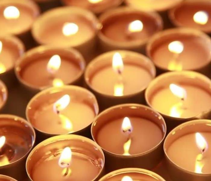Fire Damage Candle Safety Tips from the National Candle Association